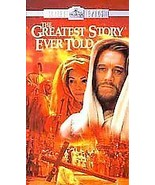 BRAND NEW FACTORY SEALED The Greatest Story Ever Told 2-tape VHS set - $12.86