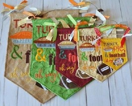 Kimberbell KD561 Pennants and Banners Happy Fall Y'All Embroid CD - $19.75