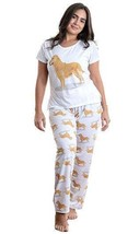 Dog Golden Retriever pajama set with pants for women - $35.00