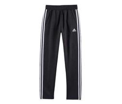 BOYS ADIDAS BLACK/WHITE  SWEATPANTS /EXERCISE PANTS SIZE XL - 18/20 - $33.87