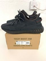 Adidas Yeezy 350 Boost FU9006 12.5 UK 13 US Triple Black bred calabasas 350 700 image 3