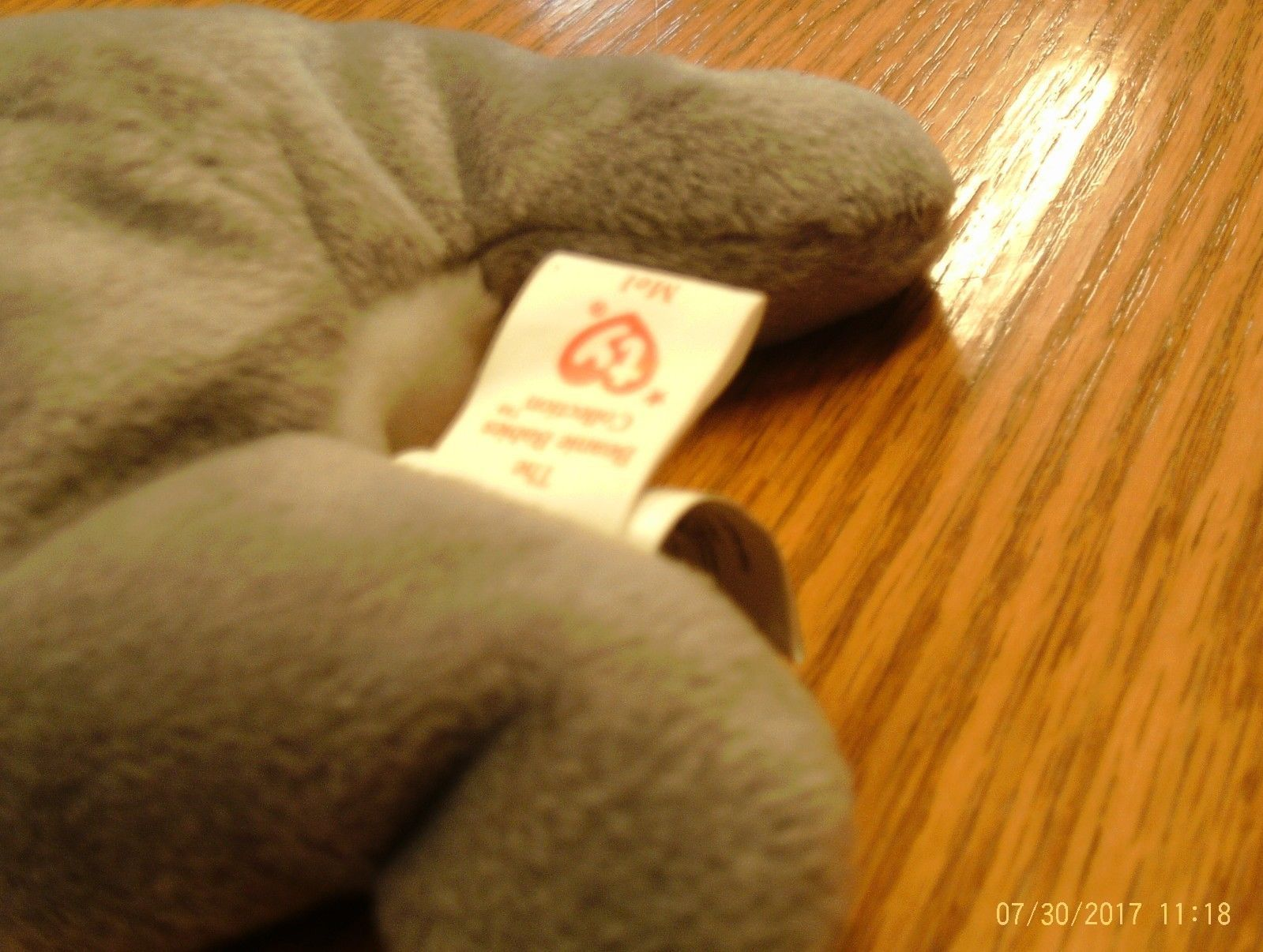 1st Edition Ty Beanie Babies Rare Mel the Koala Bear, double tush tag! image 2