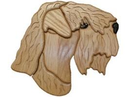 Wheaten Terrier - intarsia Wood Carving  - $110.99