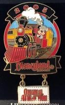 Disney Transportation Original Attraction Disneyland Railroad LE 750 Train Pin - $19.59