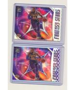 2019-20 Panini Donruss Optic Fantasy Stars Purple Plus Silver #14 LeBron... - $45.00