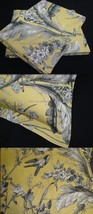 Pillow Sham mw New Ralph Lauren Grand Isle Floral Yellow Grey Birds pick... - $14.45+