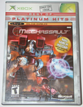 Xbox - MECHASSAULT (Complete with Manual) - $8.50