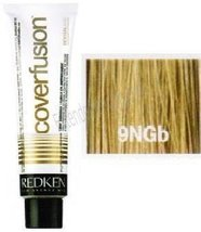 Redken Covor Fusion Low Ammonia 100% Coverage Color Cream 9NGb Natural/Gold/Beig - $13.26