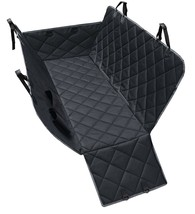 EZSpace Dog Waterproof Rear Seat Cover Protector Hammock with Pockets fo... - $24.74