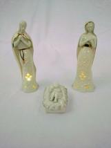 """Lenox Divine Light Holy Family 7"""" Lighted Figures - $34.64"""