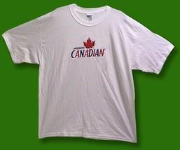 MOLSON CANADIAN - CLASSIC GENERIC LOGO BEER, ALE, T-SHIRT / SZ. XL - $9.82