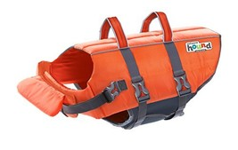 Kyjen Outward Hound PupSaver Ripstop Life Jacket Orange (Medium) - $19.61