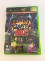 Raze's Hell (Microsoft Xbox, 2005) Complete Mature Rating FREE SHIPPING - $15.63
