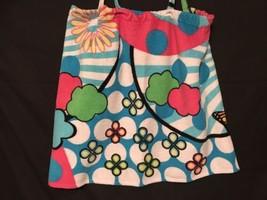No Boundaries Towel Wrap Robe Flower Print size XL New - $8.79