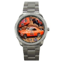 Dukes Of Hazzard General Lee Sport Metal Watch Gift model 17730593 - $14.99