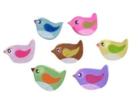 Cute Bird Shaped Thumbtack Creative Pushpins - $24.60