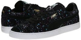 Fashion Classic Splatter Men's Suede Up PUMA Lace Sneaker 8agZqYwxfx