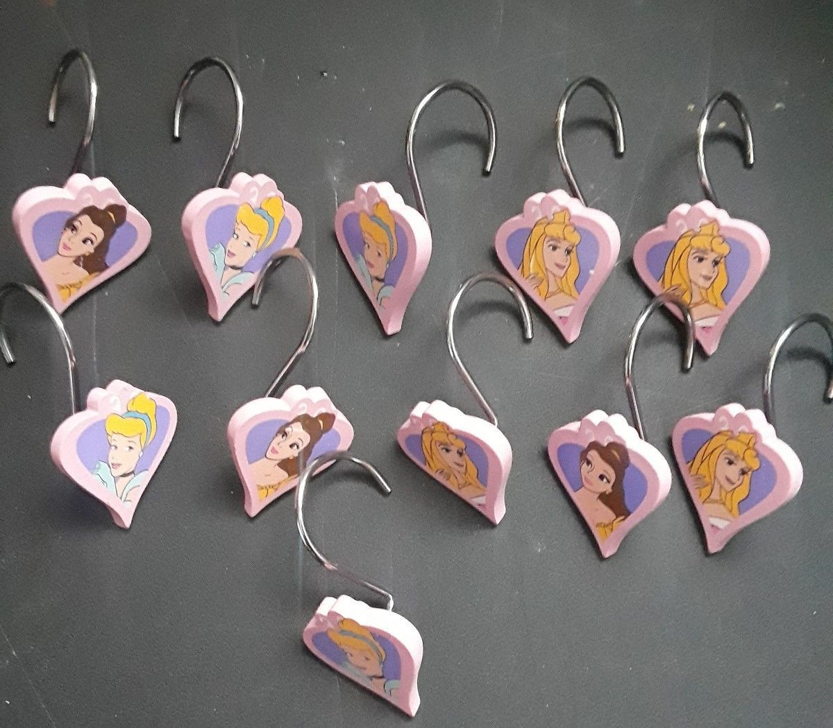 Disney Princess Shower Curtain Hooks Set Of And 23 Similar Items