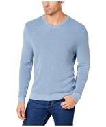 Tommy Bahama Men's Las Palmas Reversible Pullover Sweater Blue Heather S... - $62.36
