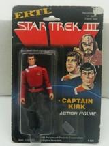 "Star Trek III Search For Spock Capt Kirk ERTL 4"" Action Figure MOC CORNE... - $30.95"
