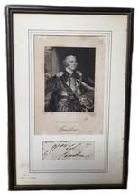 Antique Engraving John Jeffries Pratt Marquis Camden Autograph Walter Me... - $346.50