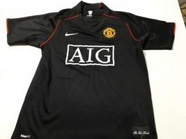 old Black soccer jersey Manchester united Nike - $33.66