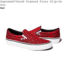 Men 9.5Us Supreme Vans Diamond Plate Slip On Us9.5 - $274.99