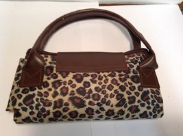 Seagull Studios Leopard Print Collapsible Tote