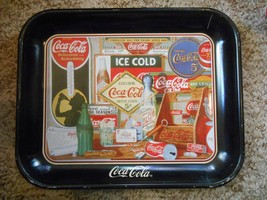 Older Vintage 1990 Through The Years Coca Cola Coke Soda Tray Antique Items  - $9.99