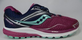 Saucony Ride 9 Size 11.5 M (B) EU 44 Women's Running Shoes Purple Blue S10318-3