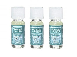 Yankee Candle Icy Blue Spruce Home Fragrance Oil Lot of 3 - $28.50