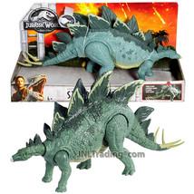 Year 2017 Jurassic World 14 Inch Long Dinosaur Figure  STEGOSAURUS - $39.99