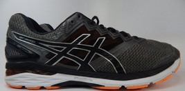 Asics GT 2000 v 4 Size US 13 M (D) EU 48 Men's Running Shoes Gray Orange T606N