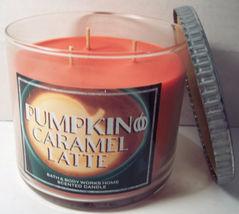 Bath & Body Works 3 wick 14.5 oz Candle  Pumpkin Caramel Latte - $39.99