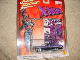 JOHNNY LIGHTNING MARVEL X-MEN '59 DESOTO CHASE CAR RUBBER TIRES FREE USA... - $12.19
