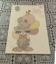 1985 Precious Moments Book of Clowns Book PM7 Counted Cross Stitch Patterns - $8.99