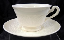 Vintage Wedgwood Patrician Cup & Saucer - Swans... - $4.74