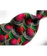 "ELECTRIC NECKWARE  ABSTRACT  ""Classic"" Mens 100 SILK  Necktie s 9 -1021 - $19.99"