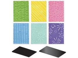 Sizzix Texturz Starter Kit #654376, Texture Plates
