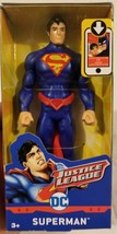 Superman Justice League Action Figure Man Of Steel Mattel 2017 DC Comics... - $22.04