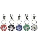 Rhode Island (KCPOKER) Poker Chip Keychain (12 Pack) - $9.46