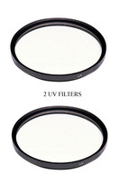 2 UV Filters For Panasonic AGHMC72E AGHMC72EN PVGS250 PVGS400 HDCHS300K ... - $10.59