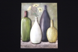 Jan Sacca Bliss Vase Collection II Art print 16 x 20, CODE: JSBVC216X20 - $14.99