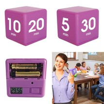 The Miracle Timecube Timer, 5, 10, 20 And 30 Minutes, For Time Managemen... - $22.94