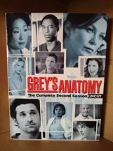Greys Anatomy - Season 2: Uncut DVD 2006, 6-Disc Set - $6.51
