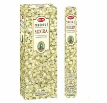 Set Of 6 Precious Mogra Jasmine 120 Incense Sticks For Meditation Yoga F... - $14.03