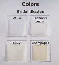 Illusive Lace V- Neck Long Sleeve Wedding Dress Button Backless Lace Ball Weddin image 4