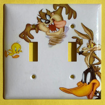 Looney Tunes tasmanian devil daffy duck Light Switch outlet cover plate decor image 3