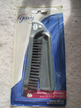 Goody Gray Plastic Folding Travel Size Purse Hair Brush Comb Pocket On G... - $10.00