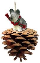 Conversation Concepts Skye Terrier Pinecone Pet Ornament - $16.99